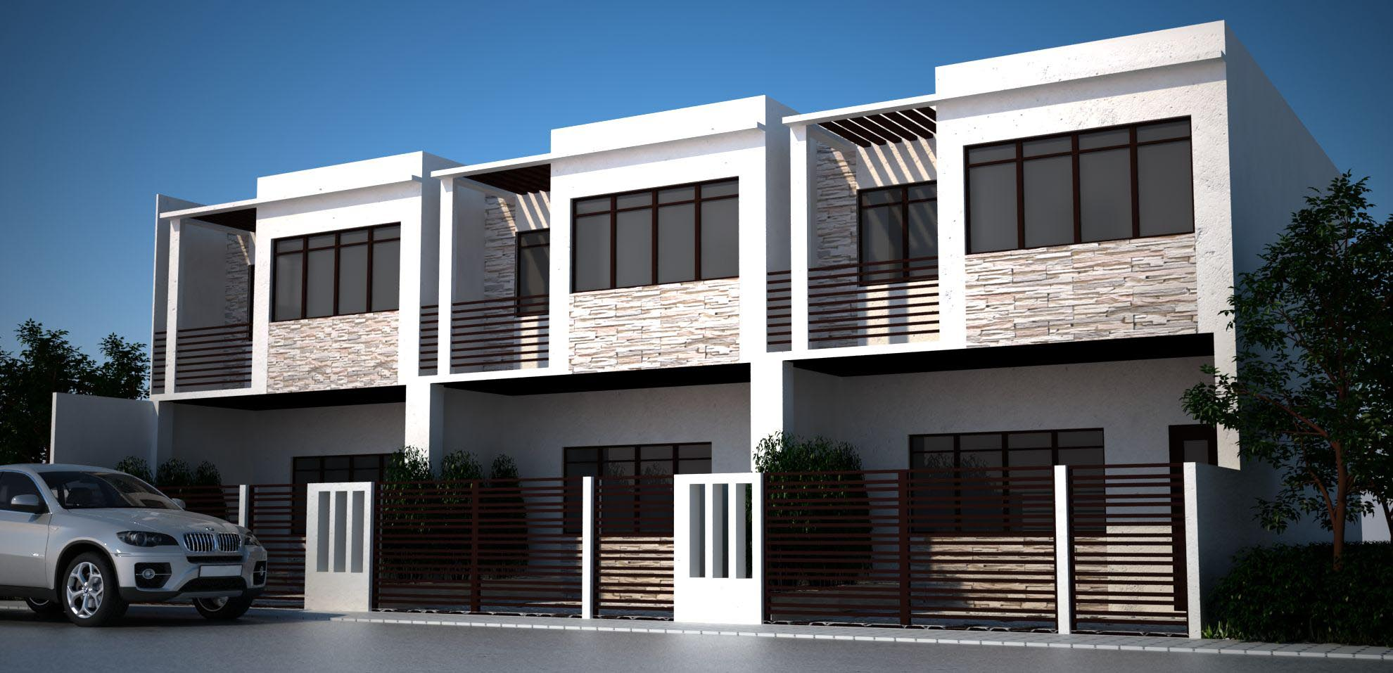 Bulacan Project 3 Units 2 Storey Townhouses